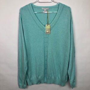 Peter Millar Women's V-Neck Sweater  XL NWT